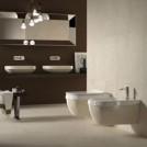 Конзолна тоалетна Abito Pietra di Noto Beige 56