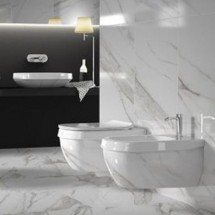 Конзолна тоалетна Abito Calacatta Lux 56