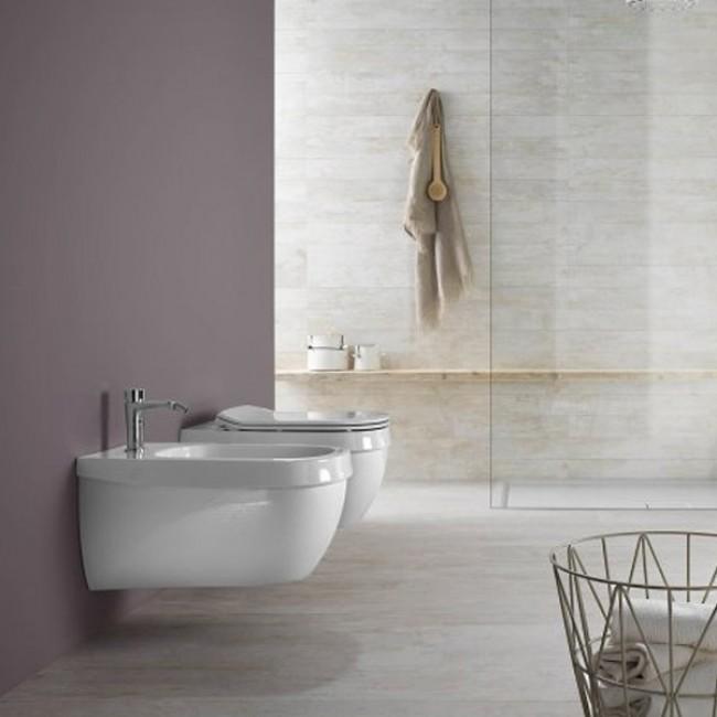 Конзолна тоалетна Abito Incrocio Bianco 56