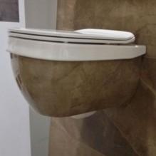 Конзолна тоалетна Abito Bronzo Amani 56