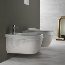 Конзолна тоалетна Abito Righe Oro 56