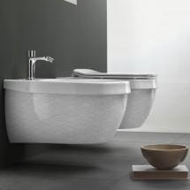 Конзолна тоалетна Abito Onde Grigio 56