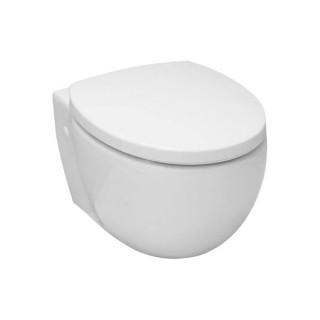 Стенна  тоалетна чиния (56351001 + 9m21c101) с капак със забавено падане