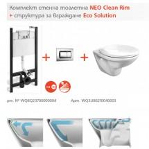 Комплект за вграждане Neo Clean Rim + Eco Solution