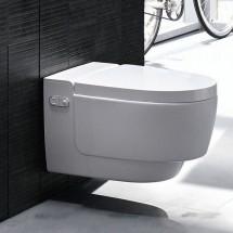Geberit AquaClean Mera Comfort - окачена тоалетна чиния, бял елемент