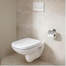 Стенна тоалетна чиния Debba Rimless, Square A8019D2004