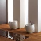 Стояща тоалетна чиния Planet  бяла 8401