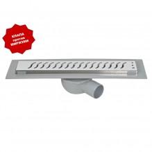 Линеен сифон с бяла решетка вълни 40 см