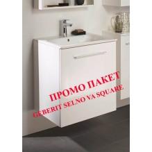 МИВКА С МЕБЕЛ ЗА БАНЯ GEBERIT SELNOVA SQUARE 500.994.00.1