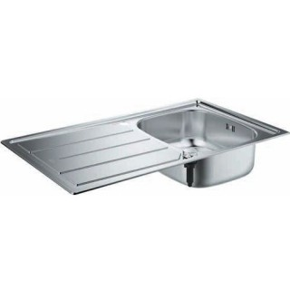 Кухненска мивка от неръждаема стомана с отцедник K200