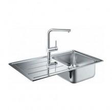 Кухненска мивка и смесител K400 + Minta