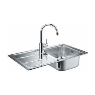 Кухненска мивка и смесител K400 + Concetto