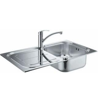 Кухненска мивка и смесител K300 + Eurosmart